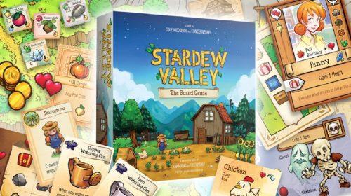 ConcernedApe lança jogo de tabuleiro de Stardew Valley