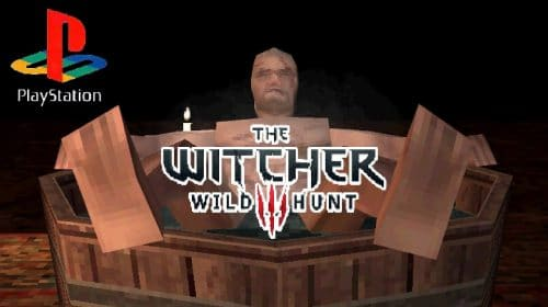 The Witcher 3: dev imagina como o jogo seria no PS1