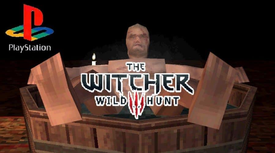 The Witcher 3: dev imagina como o jogo seria no PS1