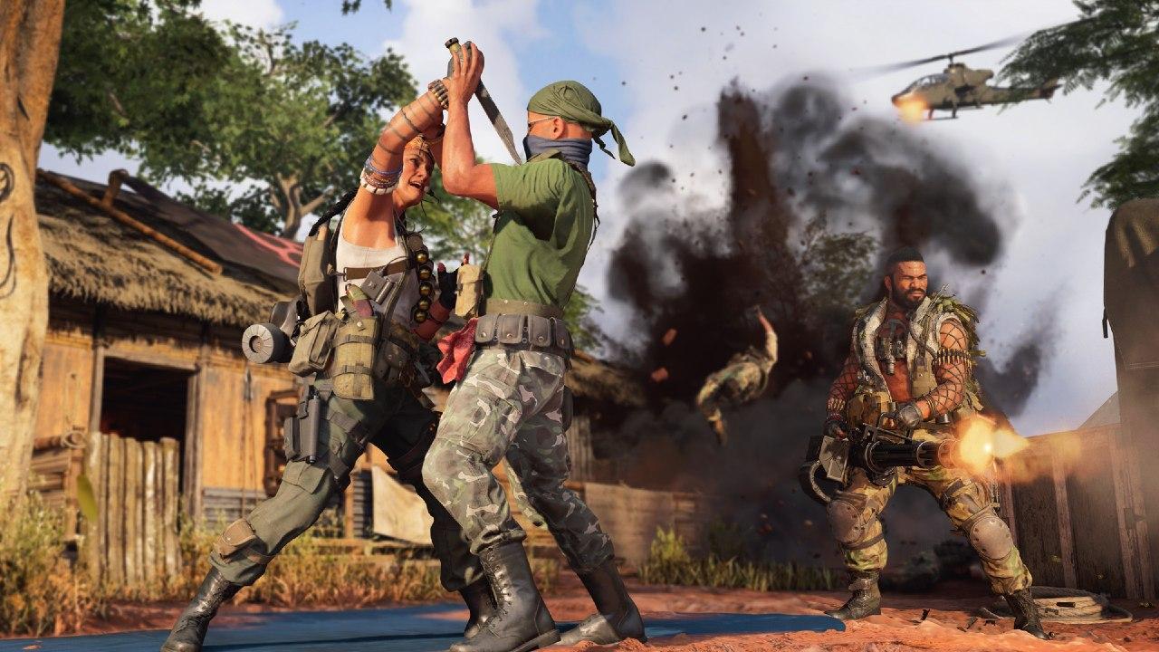 A guerra rolando solta em Call of Duty: Warzone e Call of Duty: Warzone.