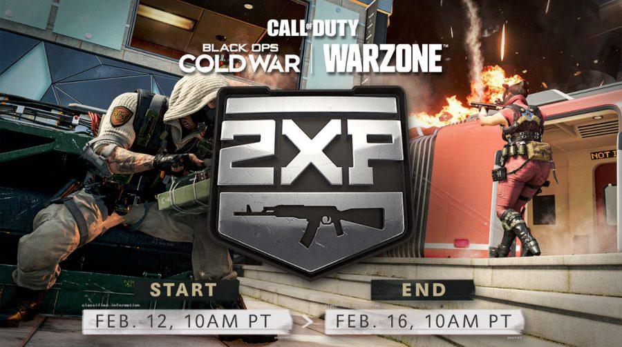 Black Ops Cold War e Warzone terão dobro de XP para armas a partir de sexta-feira (12)