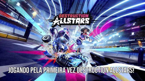 Jogando Destruction AllStars pela primeira vez | PlayStation 5