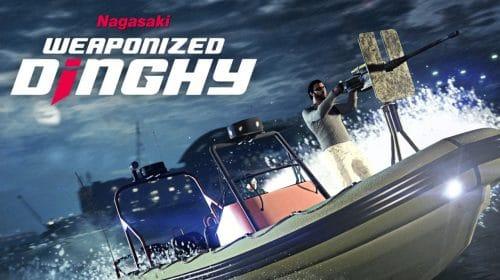 GTA Online: Nagasaki Dinghy Armado está disponível para compra