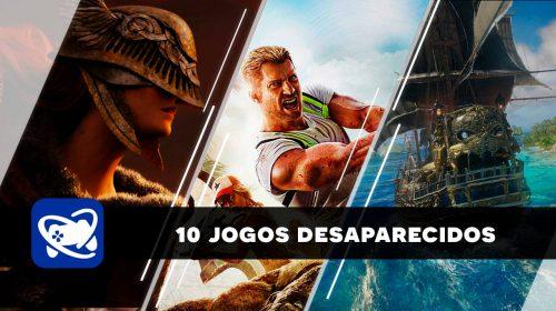 Os esquecidos no churrasco: 10 jogos desaparecidos após o anúncio