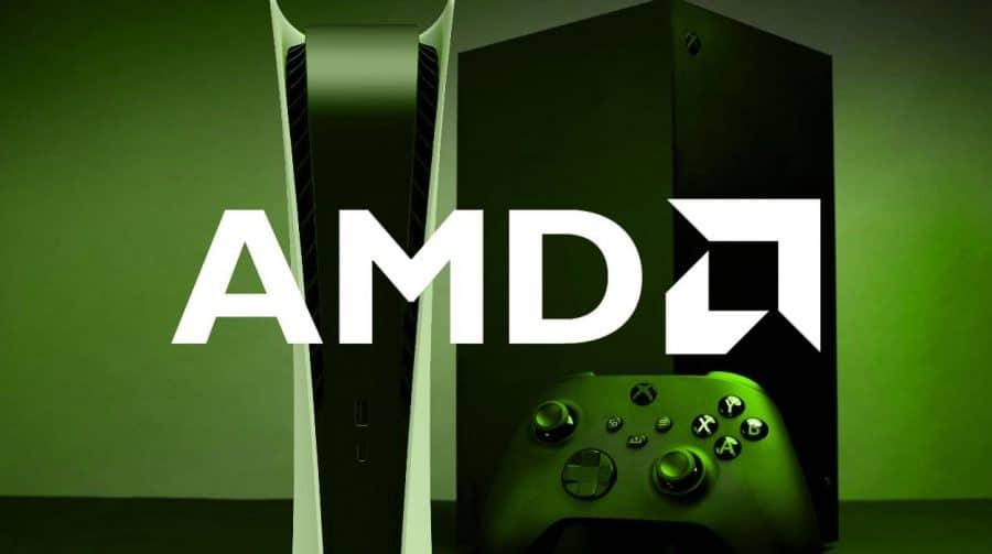 AMD pode lançar tecnologia que melhoraria o desempenho dos jogos no PS5 e Xbox Series