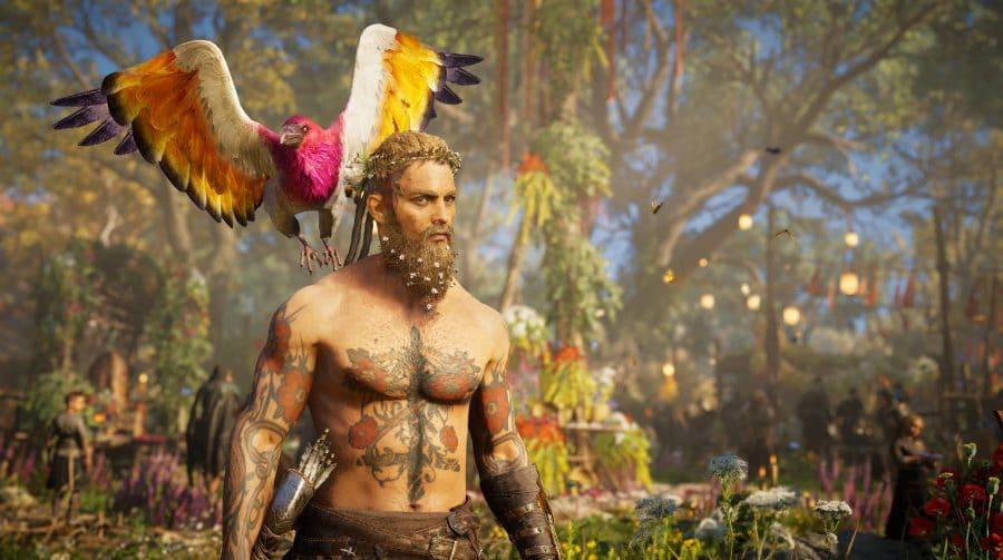 AC Valhalla: Ubisoft remove decorações e missões de festival após travamentos