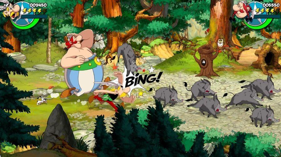 Microids anuncia novo game beat 'em up inspirado na franquia Asterix & Obelix