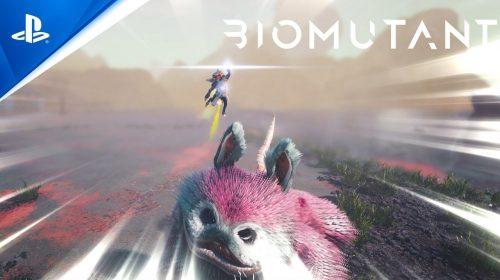 Novo trailer de BioMutant mostra combate e exploração