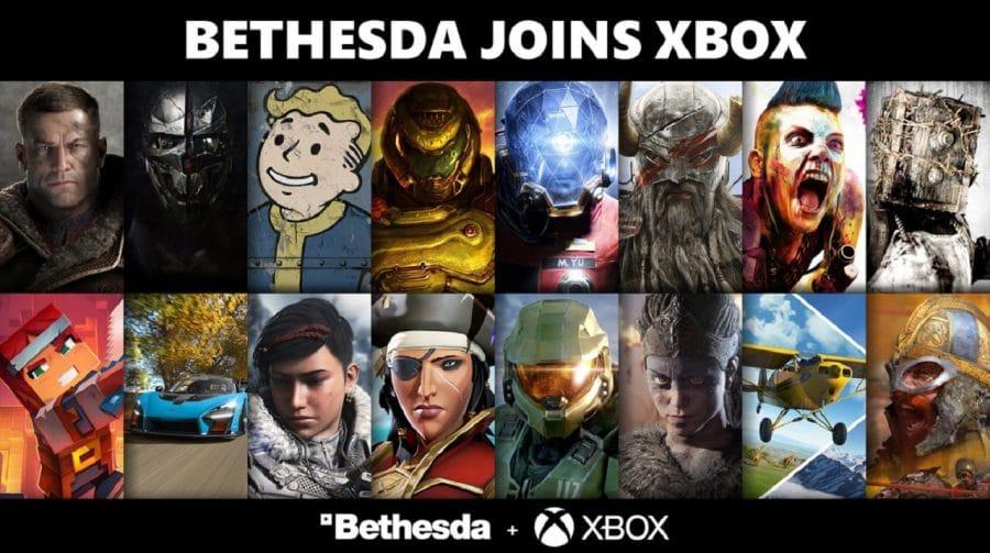 Microsoft confirma compra da Bethesda e alguns jogos serão exclusivos de Xbox