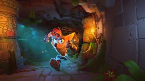 Upgrade de PS5 de Crash Bandicoot 4: It's About Time já está disponível