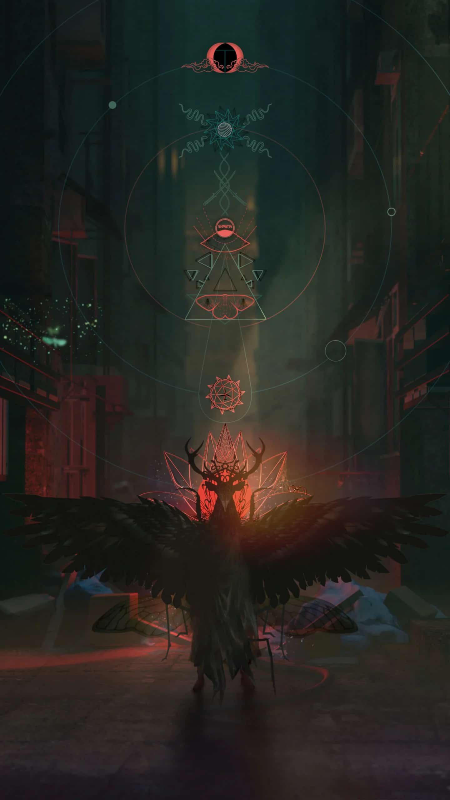 Imagem conceitual do próximo jogo do Diretor de Silent Hill fazendo referências a elementos de ocultismo com uma criatura não identificada.
