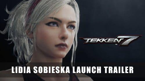 Lidia Sobieska, DLC de Tekken 7, chega nesta terça-feira (23)