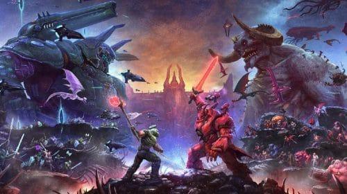 The Ancient Gods - Parte 2, DLC de DOOM Eternal, terá primeiro trailer em breve