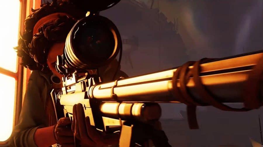 Novo gameplay de Deathloop foca nas armas do protagonista