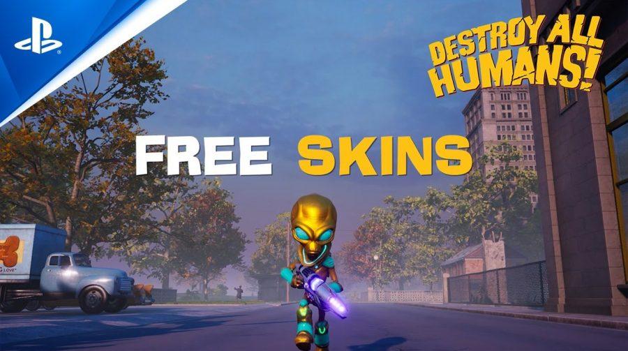 Destroy All Humans! recebe suporte a 60FPS no PS5 e novas skins
