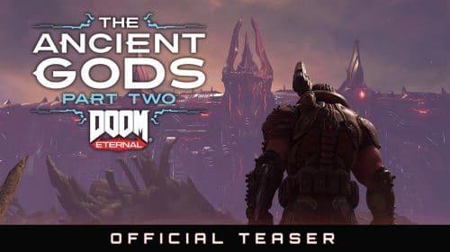 Bethesda divulga teaser de The Ancient Gods — Parte 2, DLC de DOOM Eternal