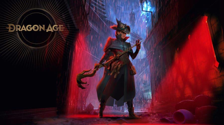 Nova arte conceitual de Dragon Age 4 mostra estiloso mago