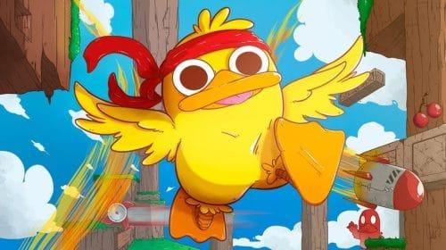 Indie brasileiro Duck Souls+ será lançado em formato físico no PS4