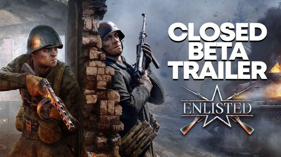 Multiplayer da 2ª Guerra Mundial, Enlisted terá beta fechado no PS5