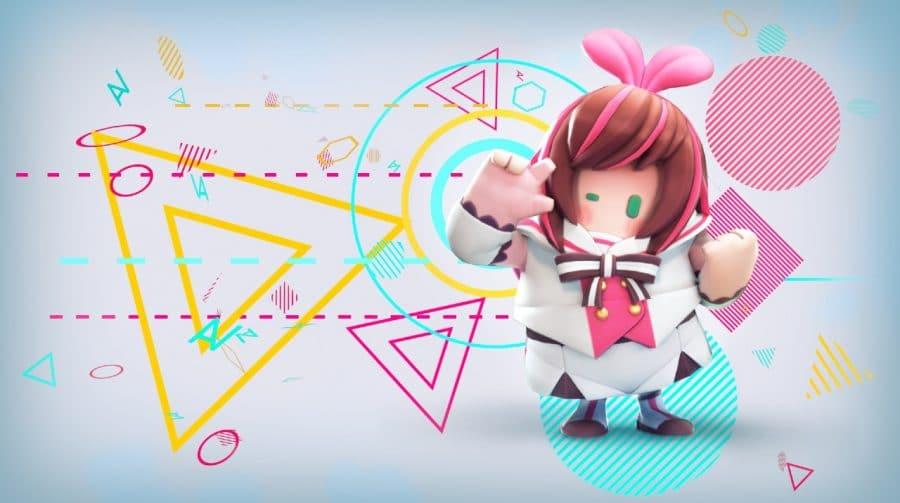 Fall Guys terá skin de youtuber japonesa que é uma inteligência artificial