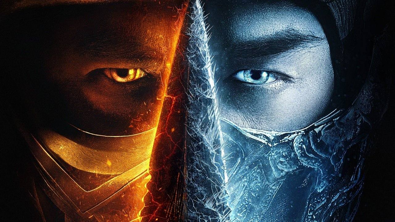 Scorpion e Sub-Zero, do filme de Mortal Kombat