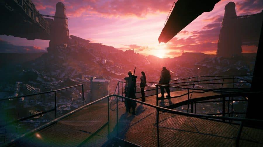 Final Fantasy VII Remake Intergrade pode ocupar até 81 GB do SSD do PS5