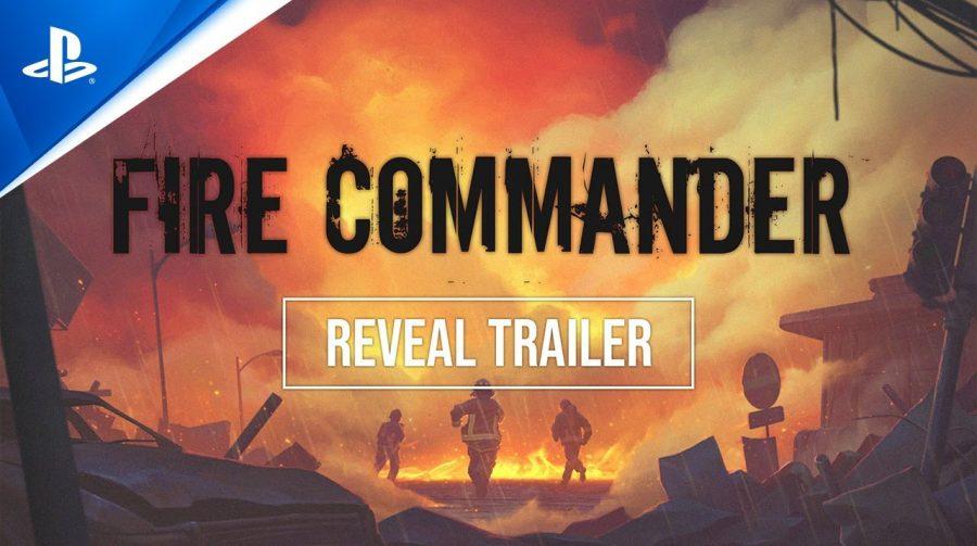 Jogo de estratégia de bombeiros, Fire Commander é anunciado para PS4 e PS5