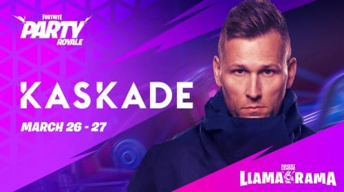 Fortnite terá show com DJ Kaskade para celebrar crossover com Rocket League