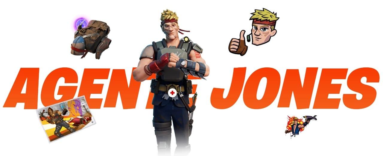 Fortnite Agente Jones