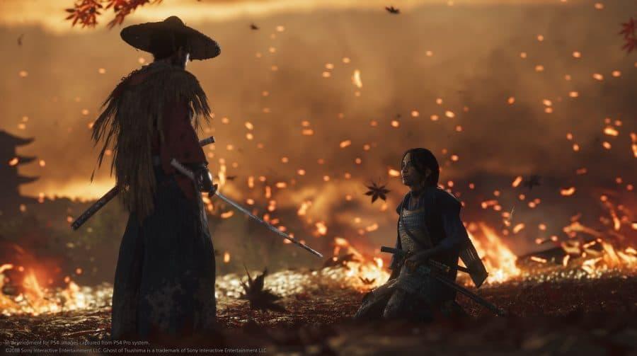 Quais atores poderiam participar do filme de Ghost of Tsushima?