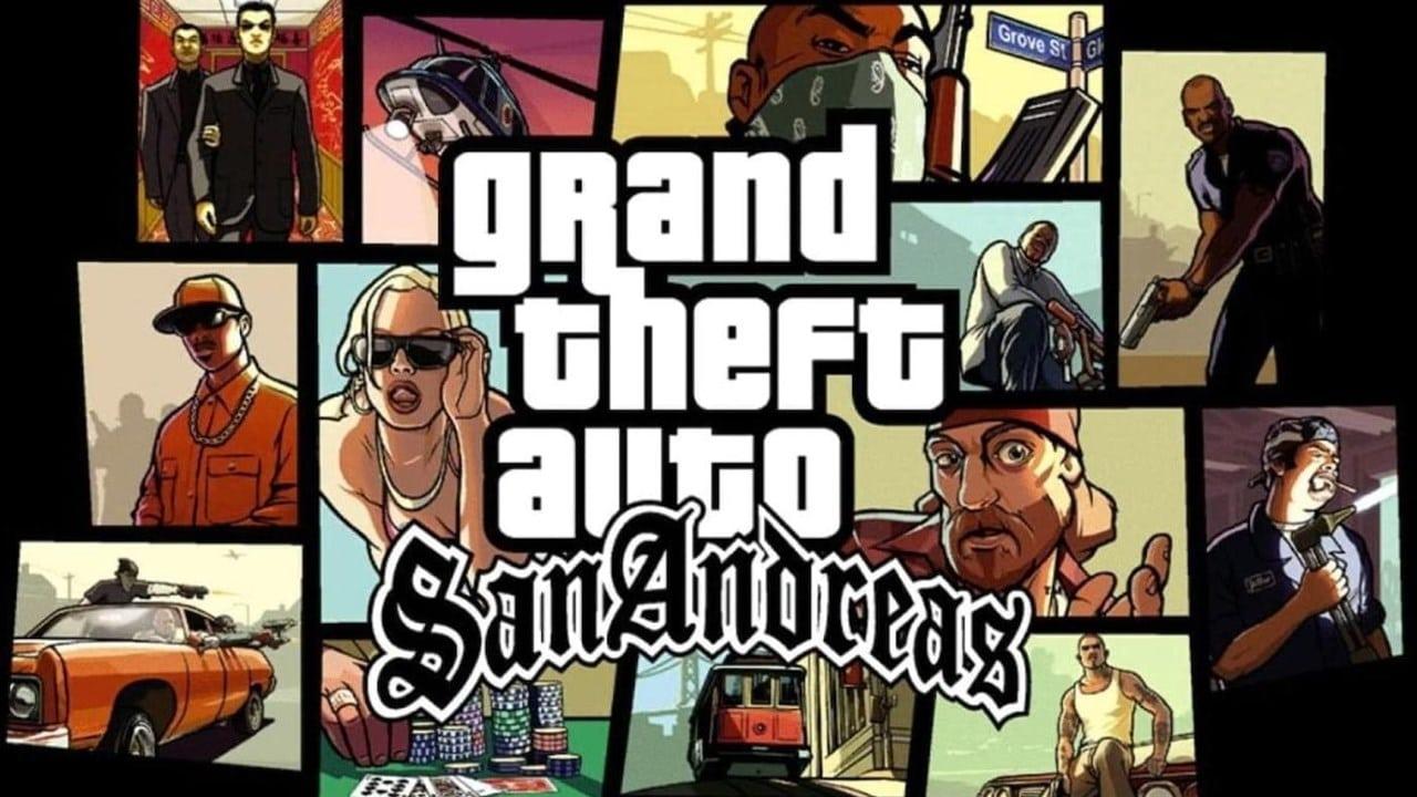 GTA San Andreas PlayStation 2