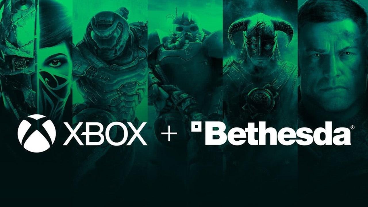 Games da Bethesda, recém-adquirida pela Microsoft e concorrente da PlayStation Studios