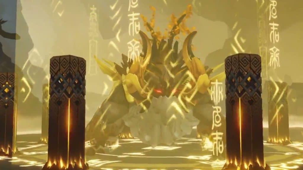 Genshin Impact Dahaka