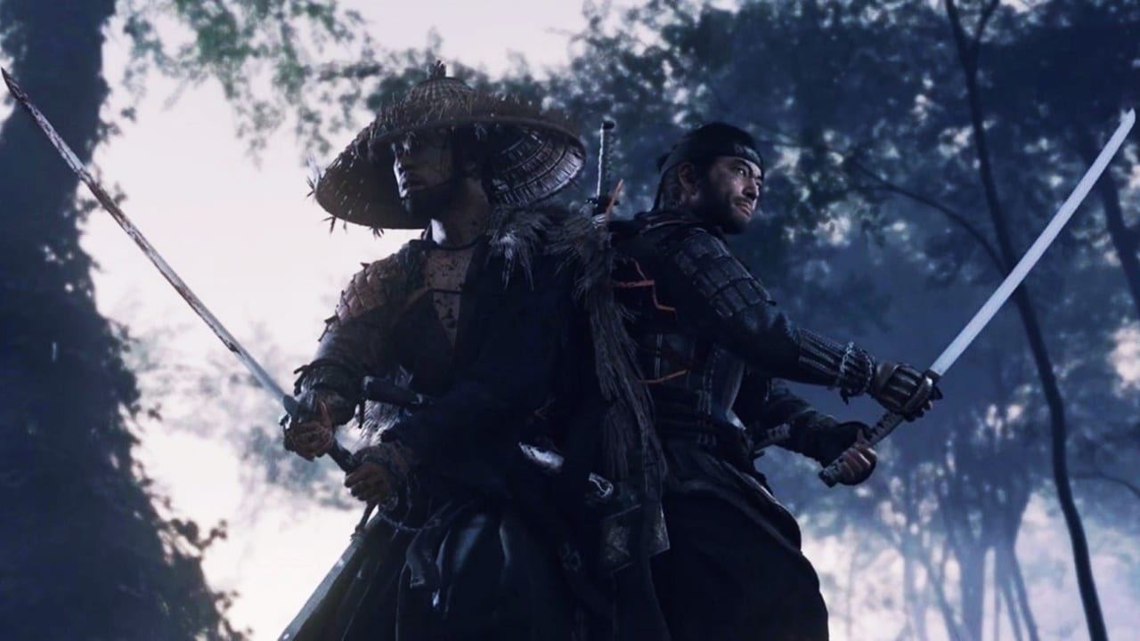 Combate em Ghost of Tsushima
