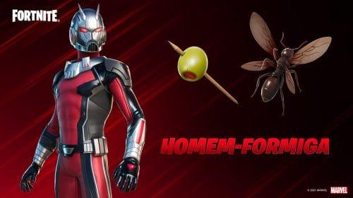 Fortnite: Homem-Formiga está disponível com outros heróis da Marvel