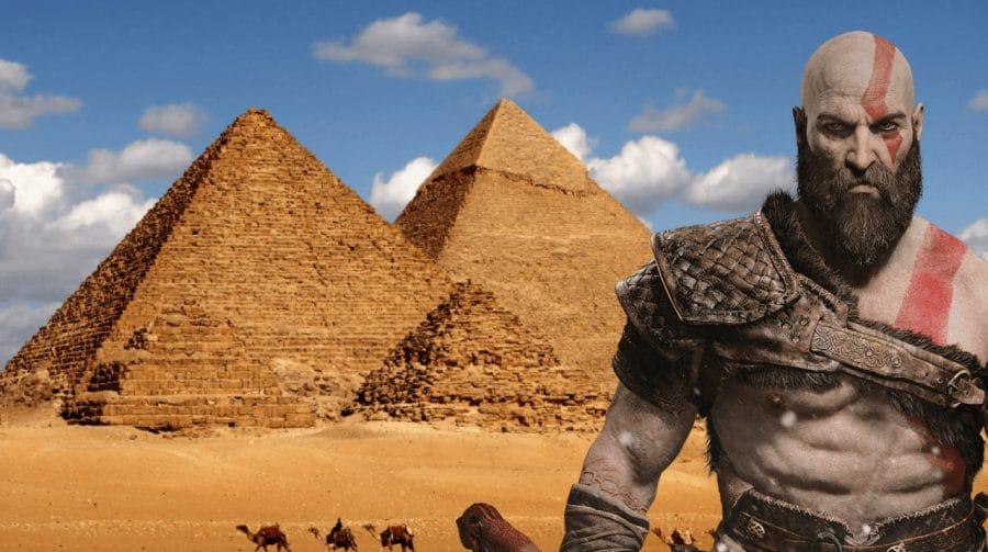 HQ de God of War sugere que Kratos pode enfrentar deuses egípcios