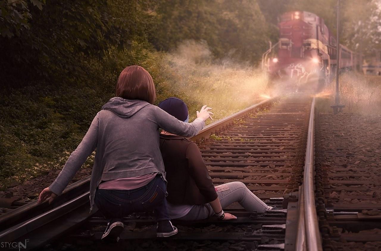 Cosplays de Chloe e Max em Life is Strange
