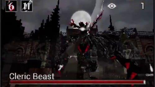 Lembra de Bloodborne para PS1? Fã recria luta contra a Fera Clerical em