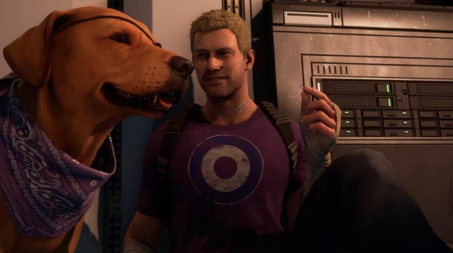 Agora é possível fazer carinho no cachorro em Marvel's Avengers