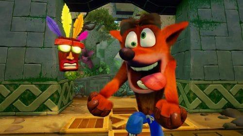 Naughty Dog não fez mais Crash Bandicoot devido à má relação com a Universal