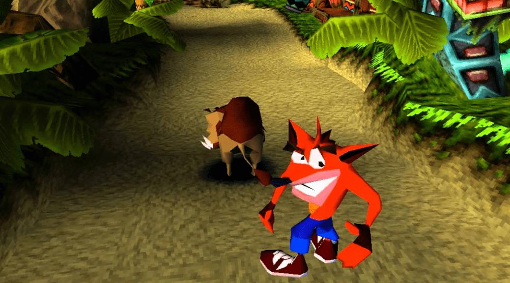Naughty Dog Crash Bandicoot