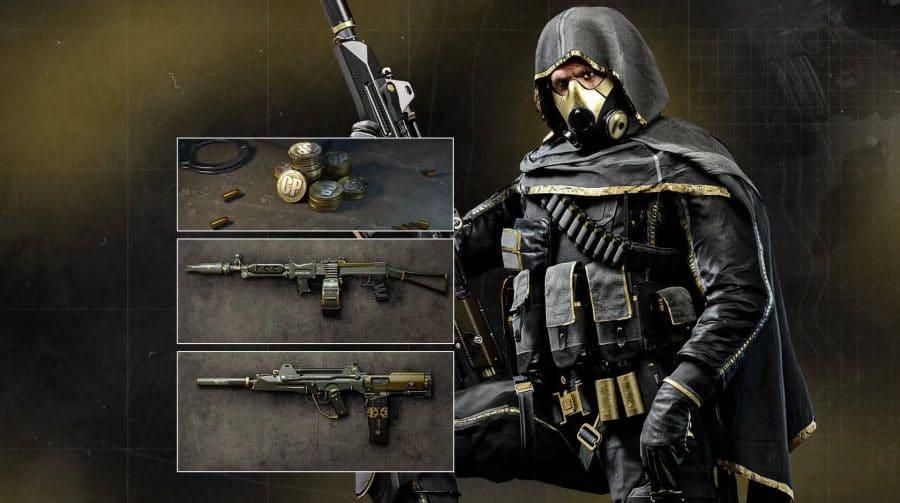 Pacote de itens lendários para Warzone e Cold War está à venda na PS Store