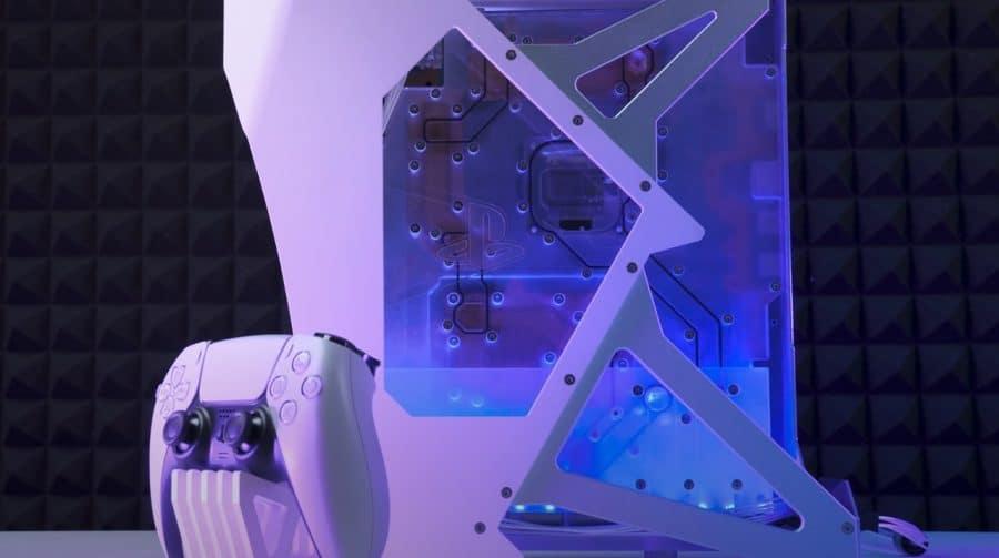 Congelando! Youtuber otimiza PS5 com sistema de resfriamento à água