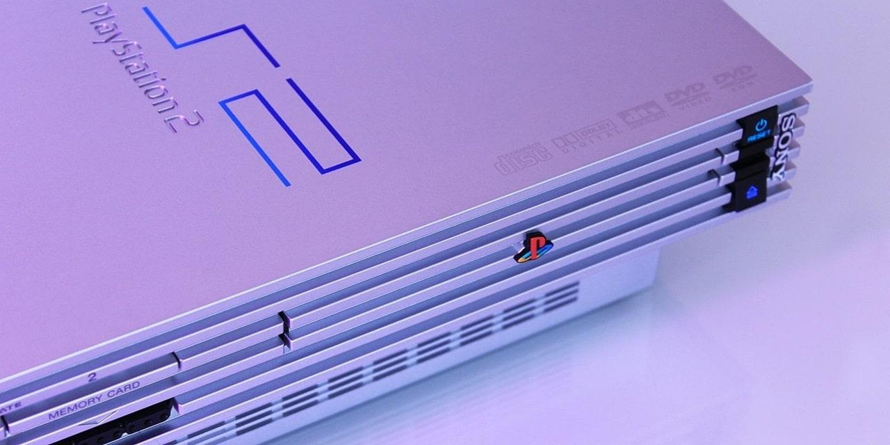 Aparelho PlayStation 2.