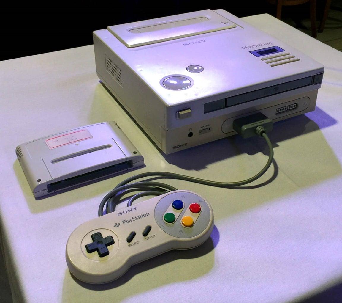 Protótipo do PlayStation em parceria entre Sony e Nintendo