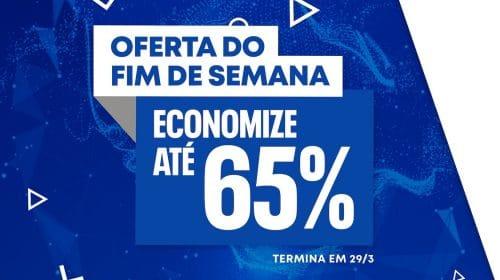 Promoção de Jogos na PS Store oferece descontos de até 65%