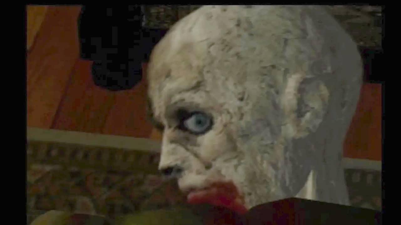 Primeiro zumbi de Resident Evil