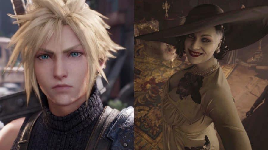 PlayStation Japão fará evento com Resident Evil Village e FF VII Remake Intergrade