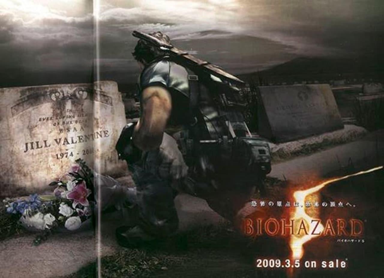 Resident Evil tumulo de Jill