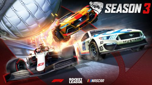 Nascar e Fórmula 1 estarão em bundles da 3ª temporada de Rocket League